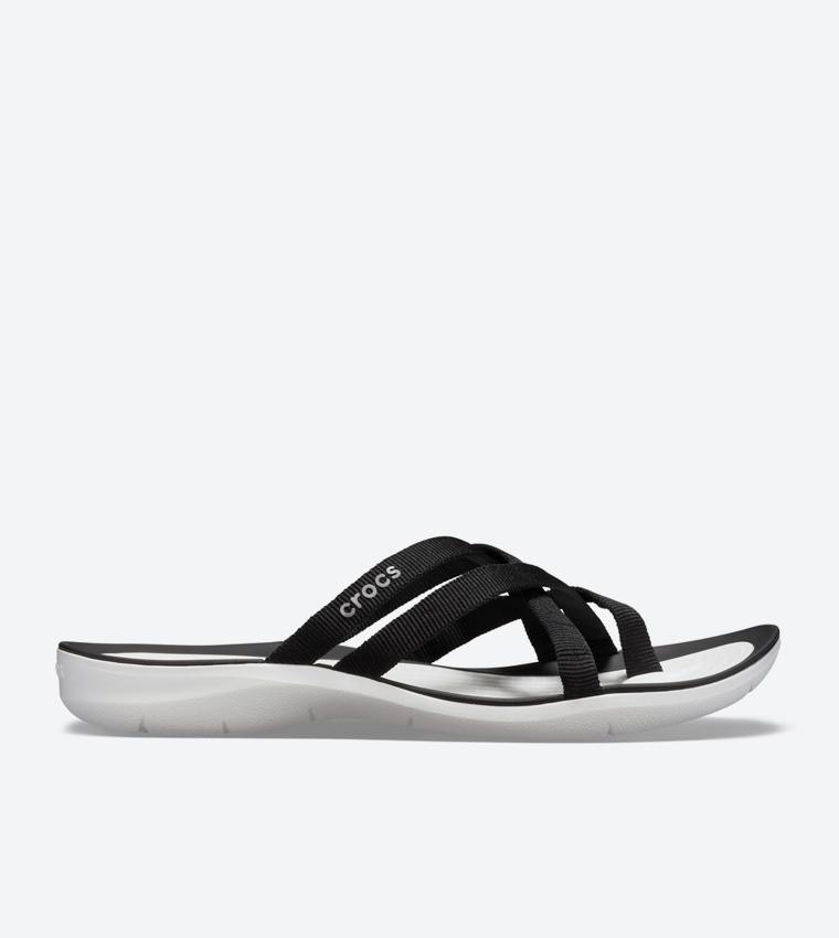 300d9fb93326 Crocs Reviva Stylish Upper Round Toe Flip Flops - Purple