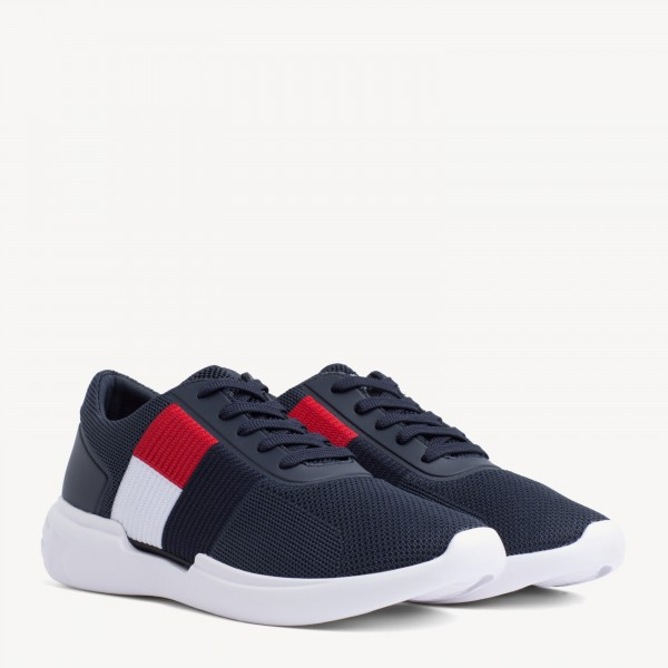 Tommy Hilfiger Mens Trainers Midnight Lighweight Sport Casual Running Shoes