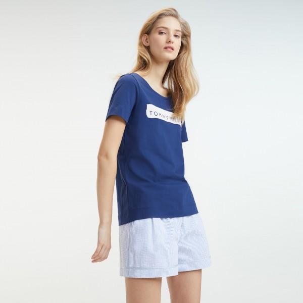 tommy hilfiger women's logo t shirt