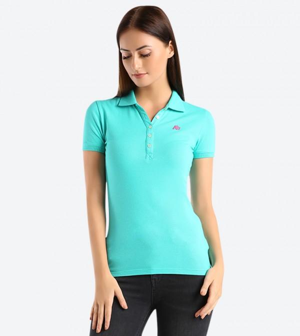 42325154 A87 Pique Polo Shirt - Pink AR-8017-4163