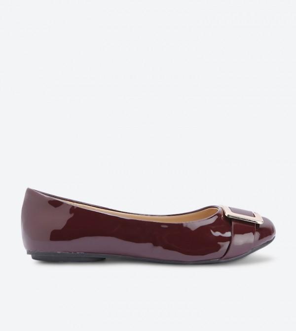 حذاء بالارينا - ماروني