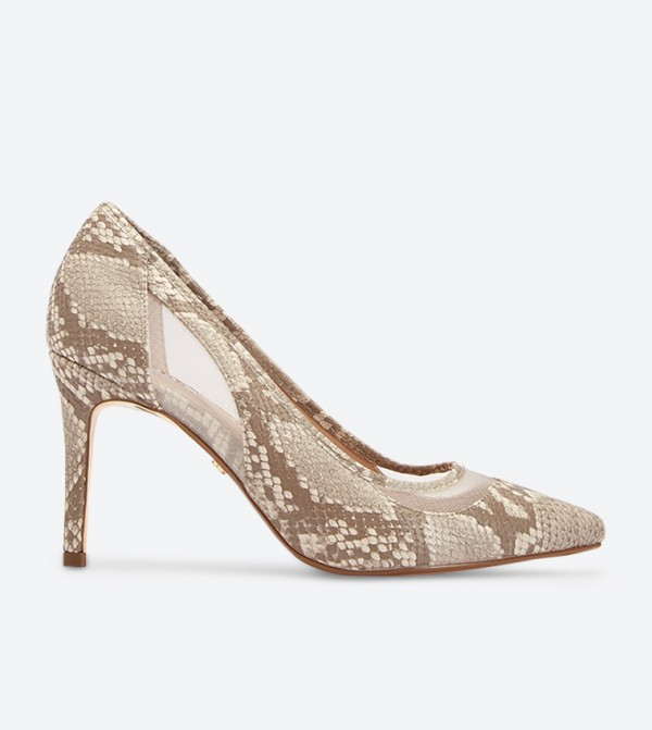 حذاء بونتي بلون بيج