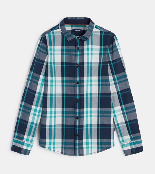 Checkered Shirt-Green