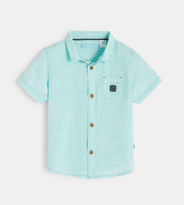 Striped Shirt-Green
