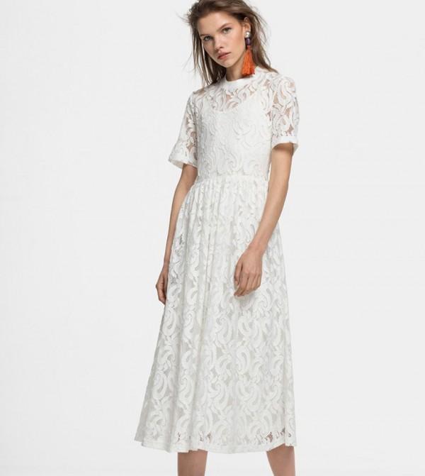 فستان متوسط الطول