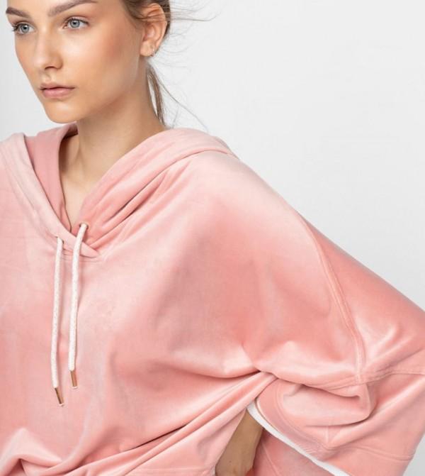 Lounge Sweatshirt-Pink