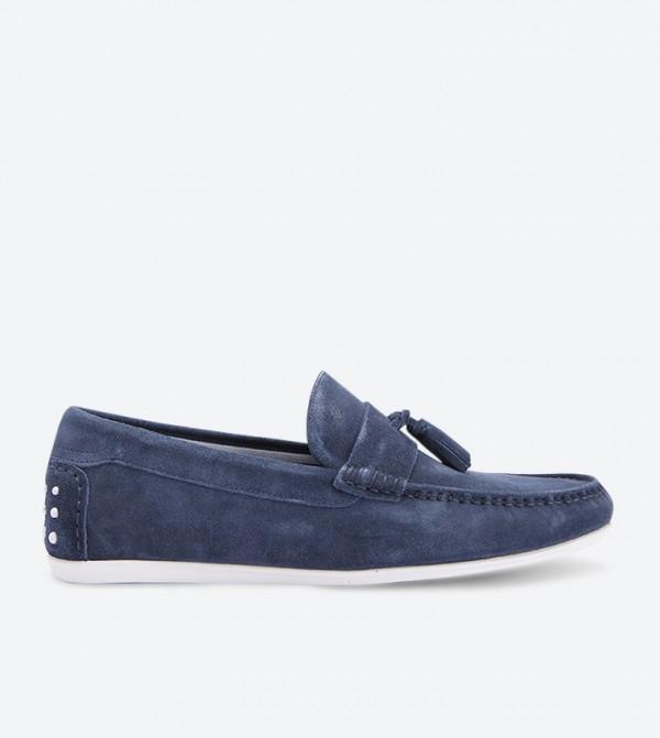 حذاء لوفر - ازرق