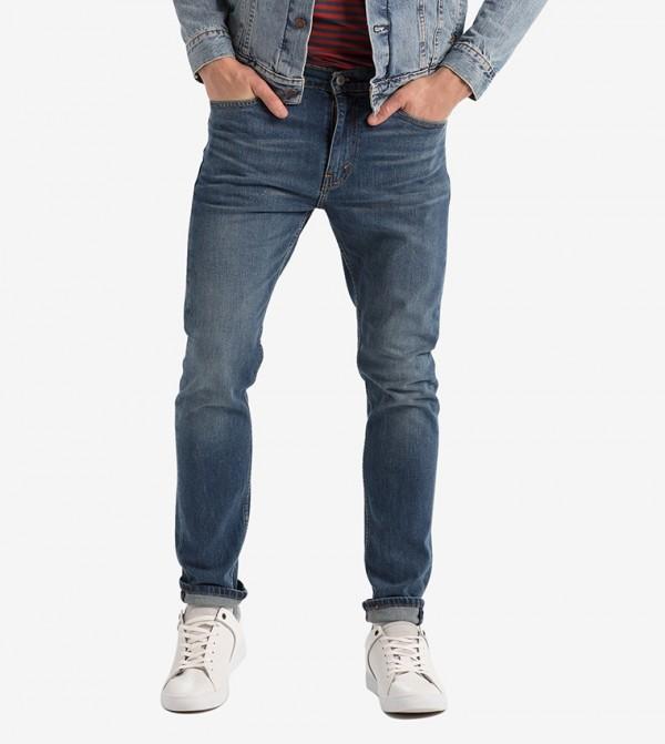 جينز لون أزرق