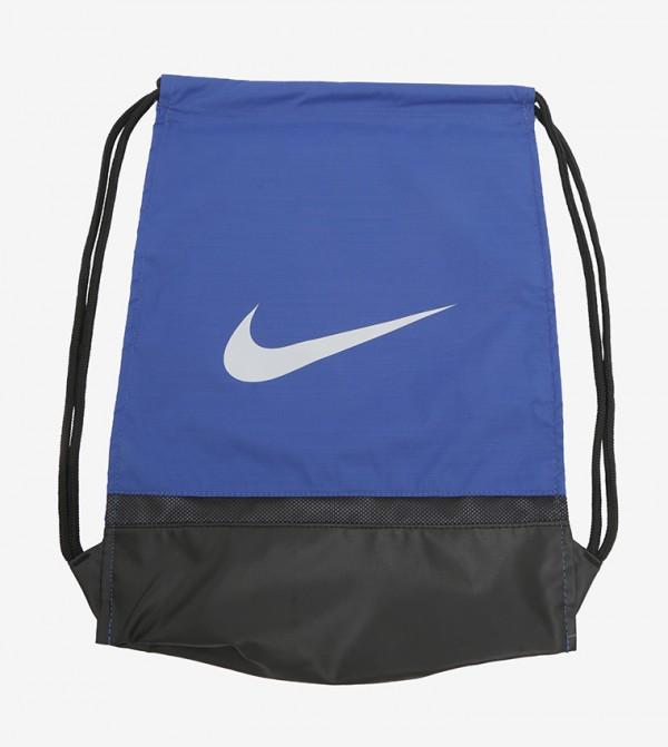 Drawstring Closure Backpack - Black