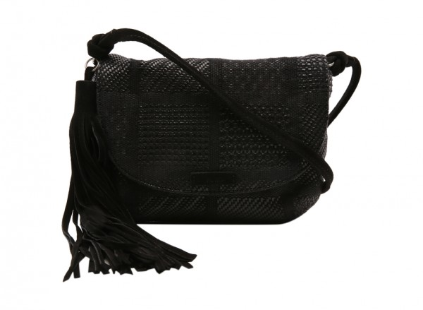 Black Cross Body Bag-10008334