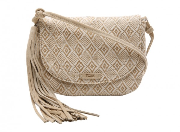 Natural Cross Body Bag