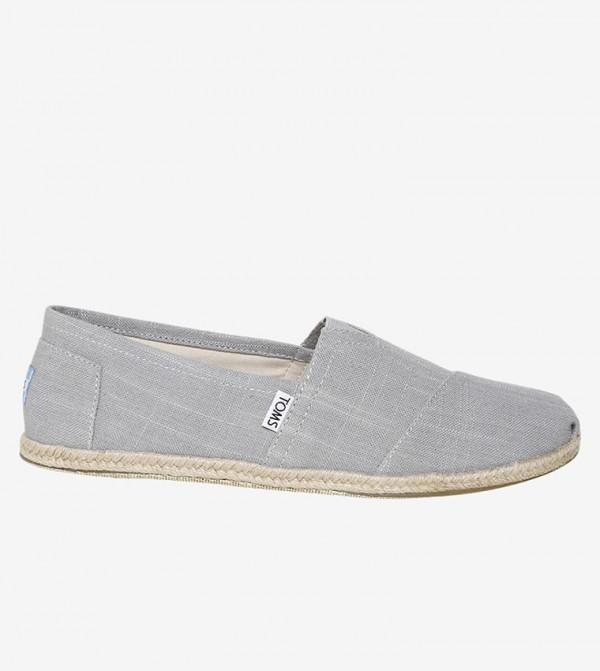 Toms Slip-Ons - Grey - 10008381
