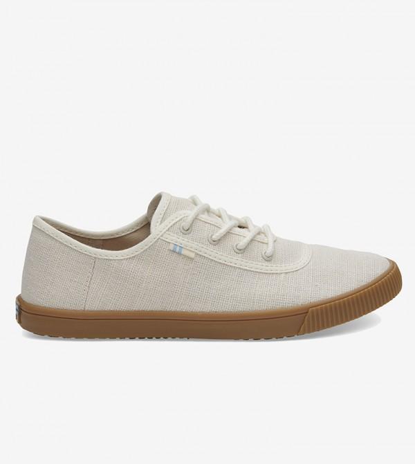 حذاء مع خيوط - مجموعة توبانجا- أبيض