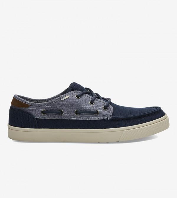 حذاء غير رسمي بالخيوط - أزرق