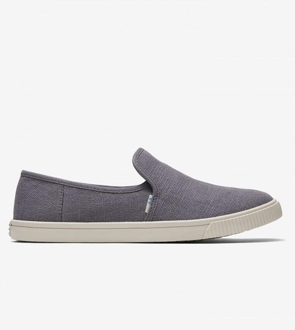 حذاء سهل الارتداء - رمادي