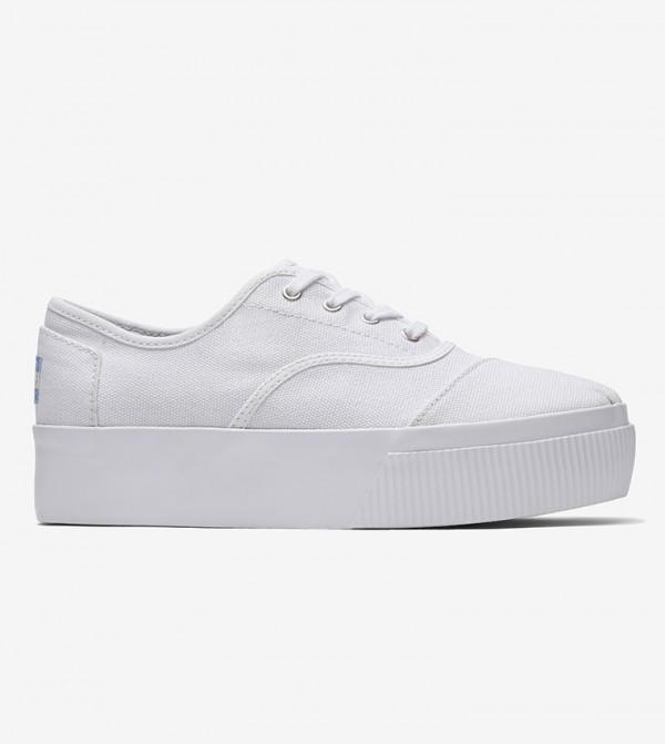 Heritage Cupsole Cordones Boardwalk Sneakers Venice Collection - White