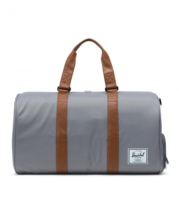 Poly Duffle Bag For Unisex - Grey