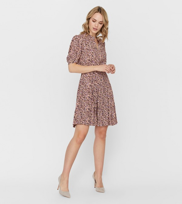 Short Dresses - Multi
