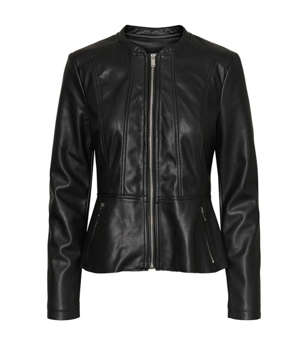 PU Jackets - Black