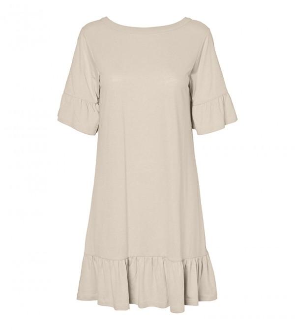 Short Dresses - White
