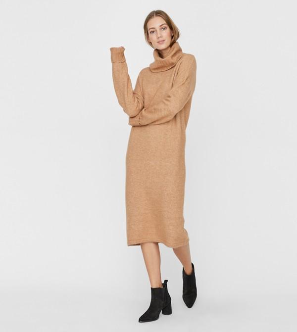 Long Dresses - Brown