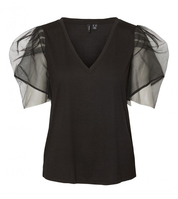Short Sleeves T-shirts - Black