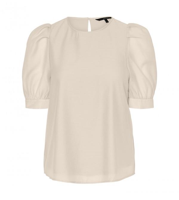Short Sleeves Shirts - White