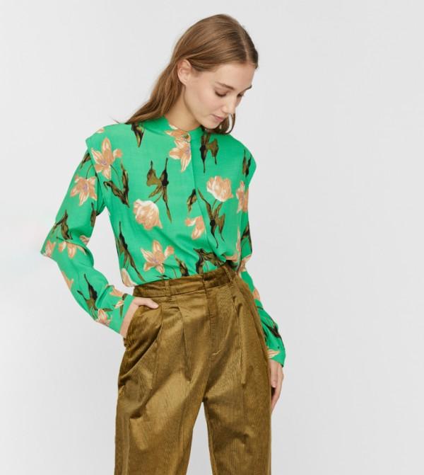 قميص - اخضر