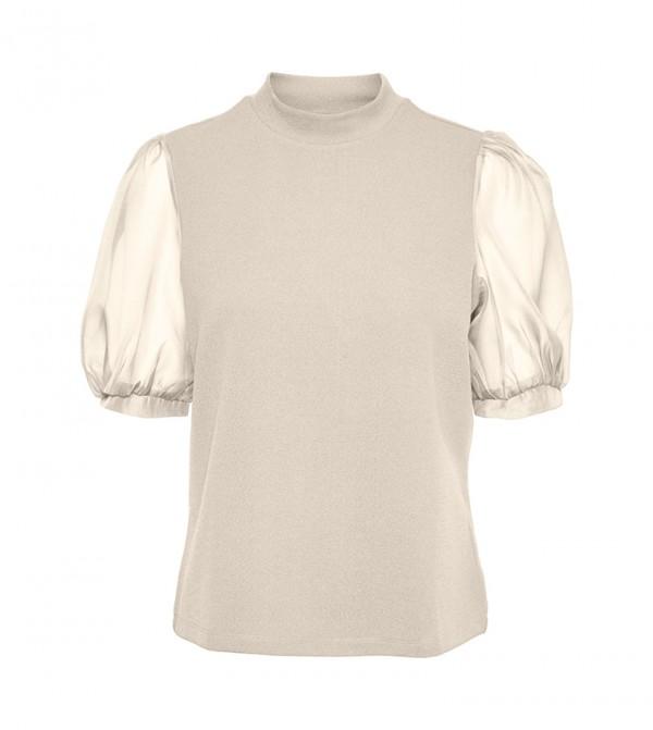 Short Sleeves T-shirts - White