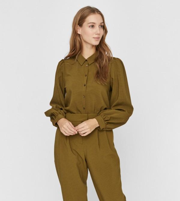 قميص - اخضر فاتح