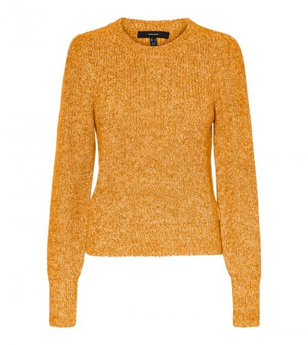 Short Sleeves Knit - Yellow