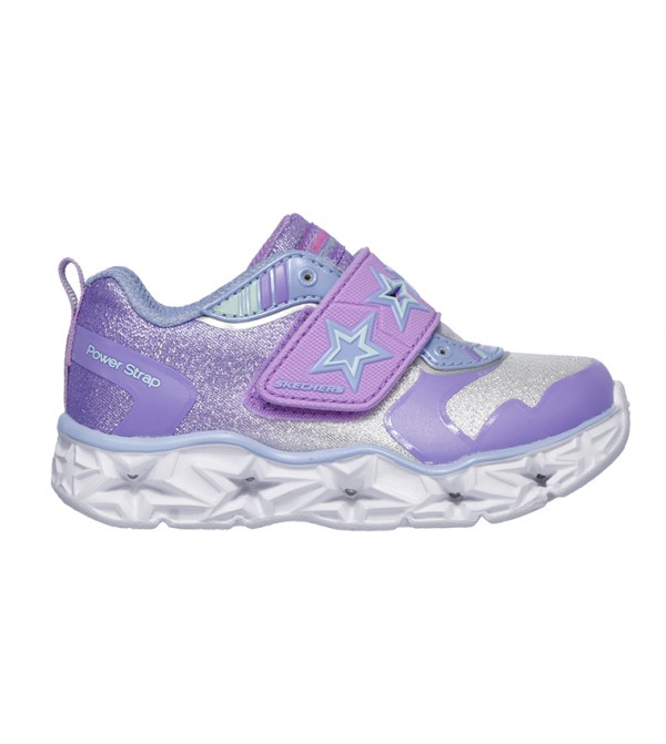 Galaxy Lights Sneakers - Silver Lavender