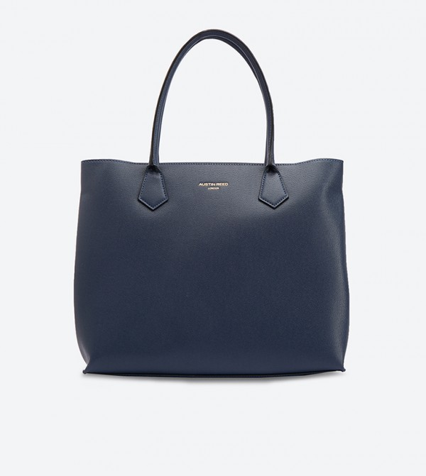 Twin Handle Tote Bag Navy 130218013ngt