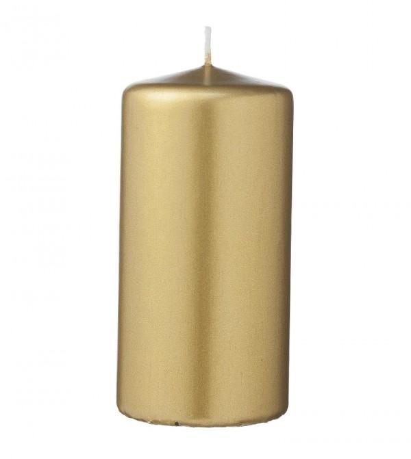شمعة للمنزل بلون ذهبي