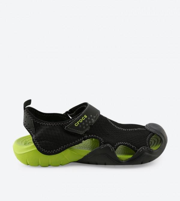 Swiftwater Sandals - Black - CR-15041-09W-BLACK-VOLTGREEN