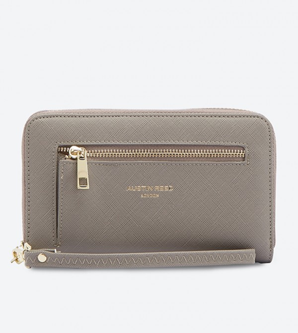 Top Zip Wallet Grey 151218006ngt