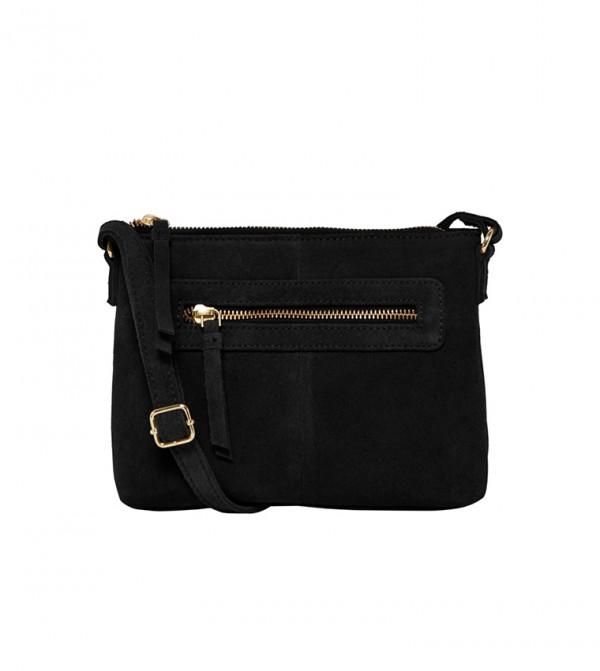 Zip Closure Cross Body Bag
