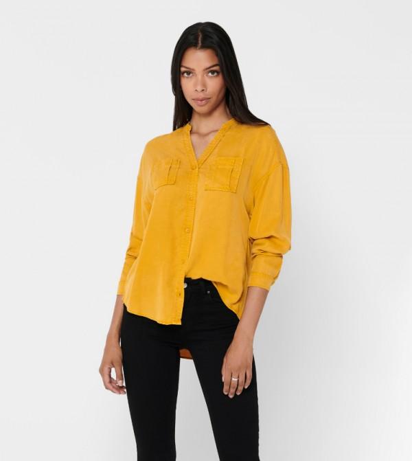قميص - اصفر ذهبي