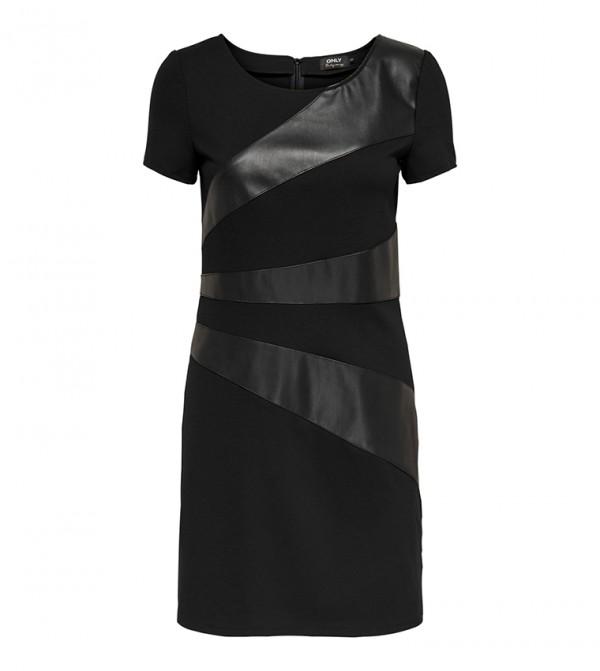 Short Sleeve Round NeckShort  Dress