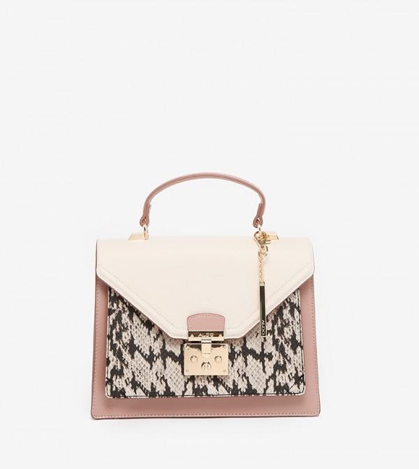 CLAIRLEA Top Handle Bag Black