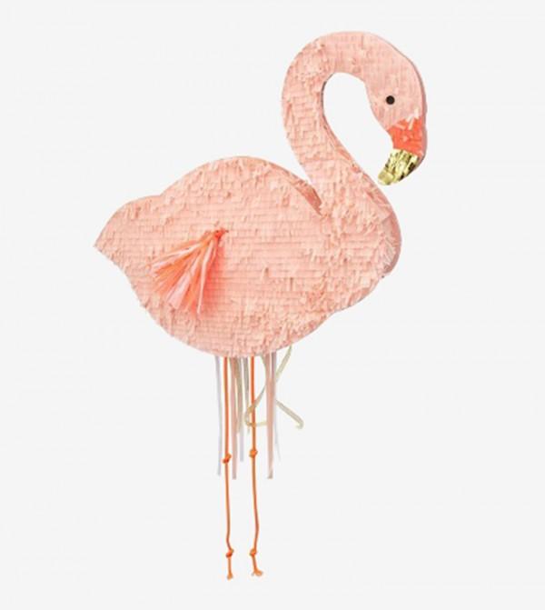 Flamingo Shape Party Pinata - Pink
