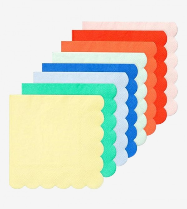 Party Palette Large Napkins Set (20 Pcs) - Multi