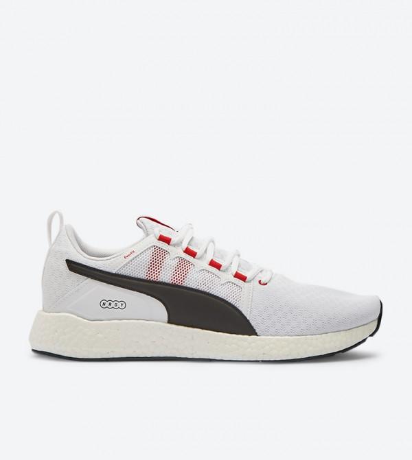 Nrgy Neko Turbo Lace Up Closure Sneakers White