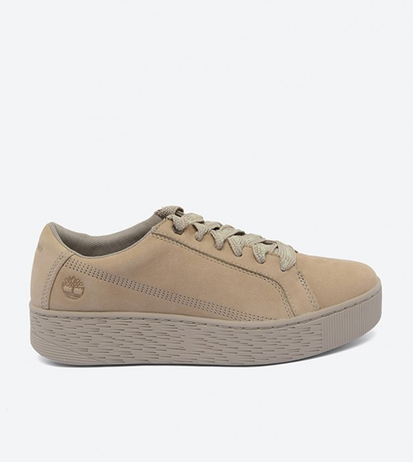 Marblesea Leather Sneaker-Tan