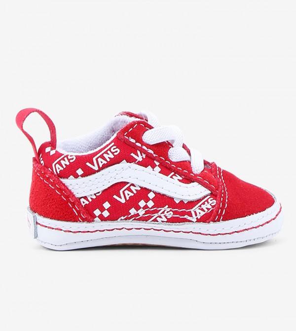 In Old Skool Crib Baby pre walker shoes - Multi