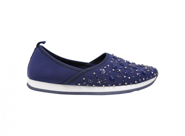 Cerisa Slip On - Navy