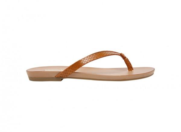 حذاء فلات تريشيا بني