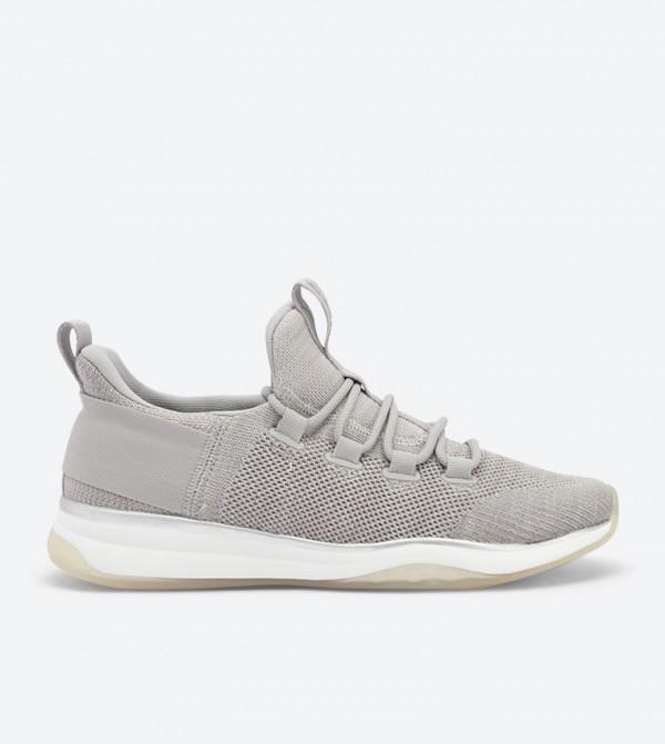 Mesh Details Mx.3A Sneakers - Grey 20210201-MX.3A