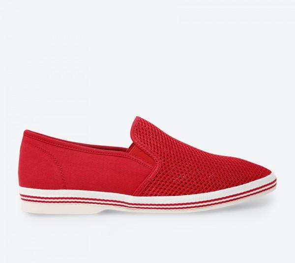 Debert Slip-Ons - Red