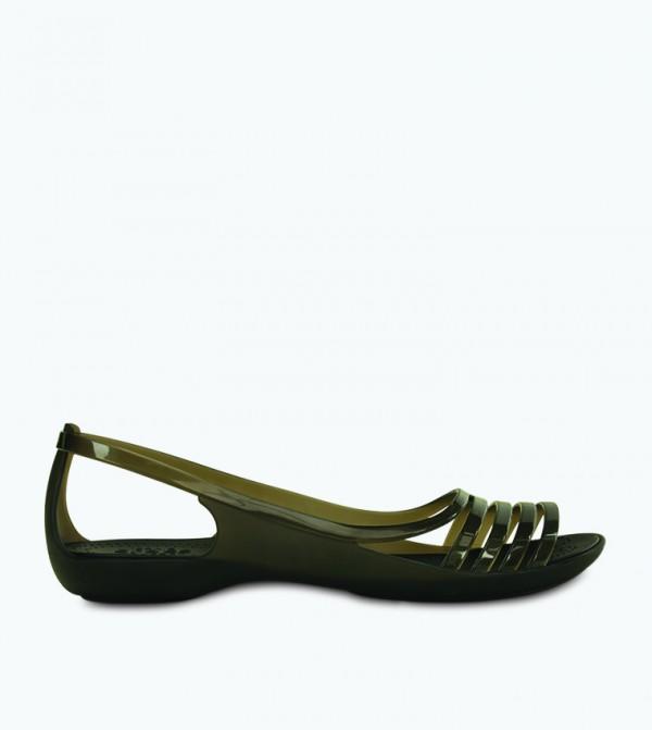 Isabella Huarache Sandal - Black - CR-202463-001-BLACK